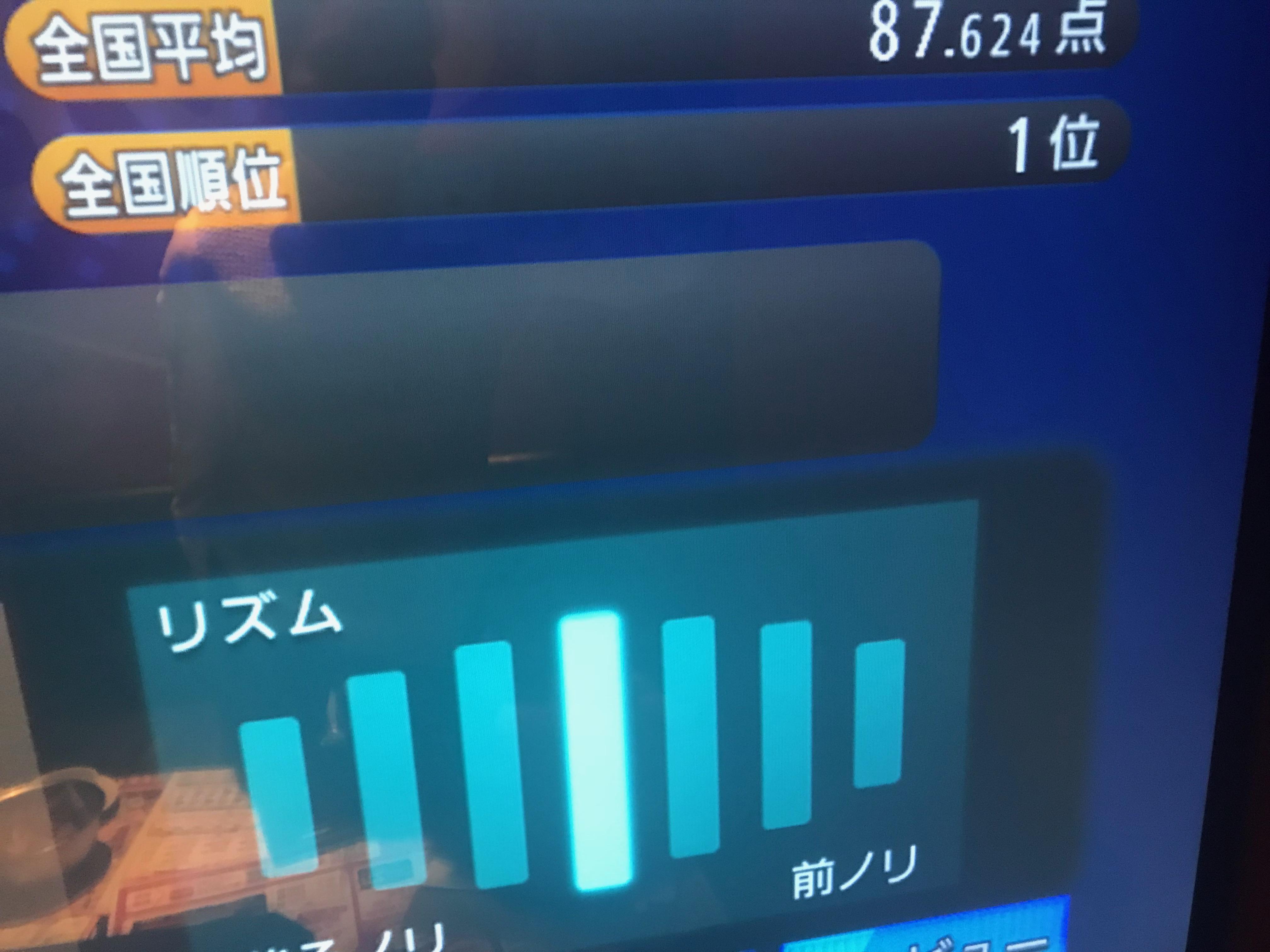 11時〜22時カラオケの結果